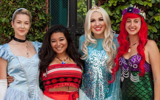 Pacific Party Services Entertainers, Princesses.