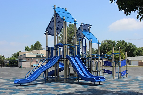 Bertrand Elementary Los Angeles Playground Equipment