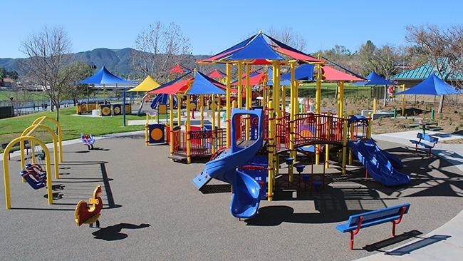 inclusive playground equipment design
