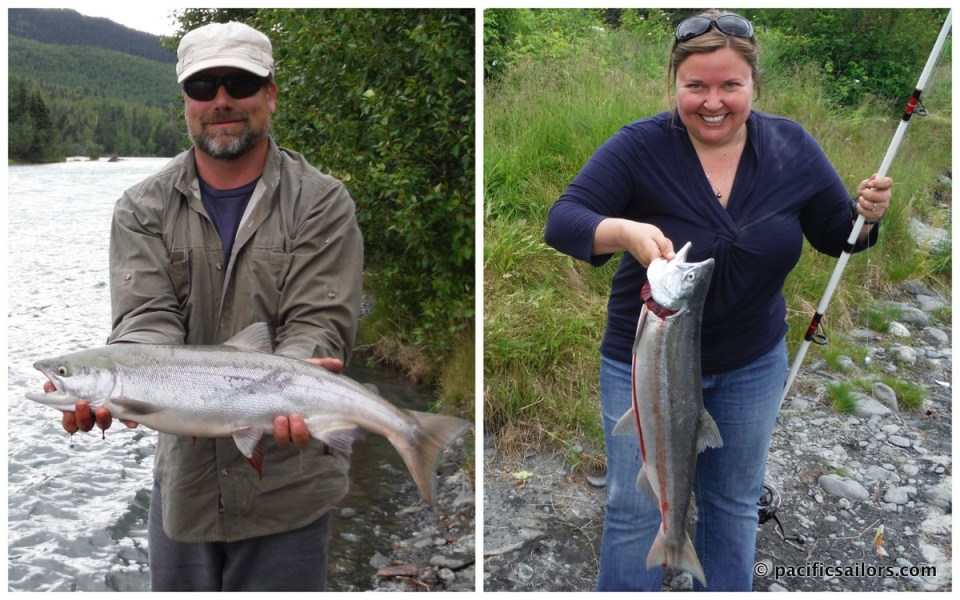 Fish caught on Kenai River
