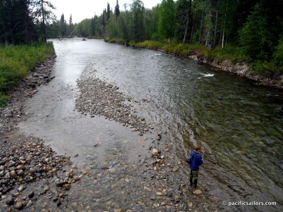 Fishing Willow Creek