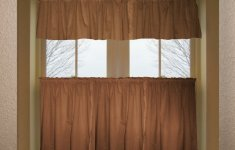 Extremely Beautiful Brown Kitchen Curtains That Everyone Will Love Them