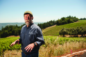 Winegrower Stuart Smith says that any new hillside vineyard regulations will drive out small winemakers like him. Photo by Paolo Vescia.