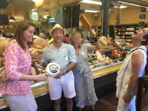 Gourmet Food & Wine Tours hits the popular spots in Tiburon and Sausalito. Photo courtesy of Gourmet Food & Wine Tours.