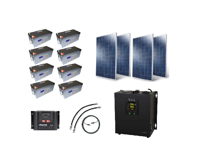 Econoseries 1000w Off Grid Solar Kit Pacific Sun Systems