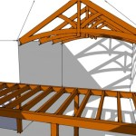 hybrid timber frame house design by pacific timberworks
