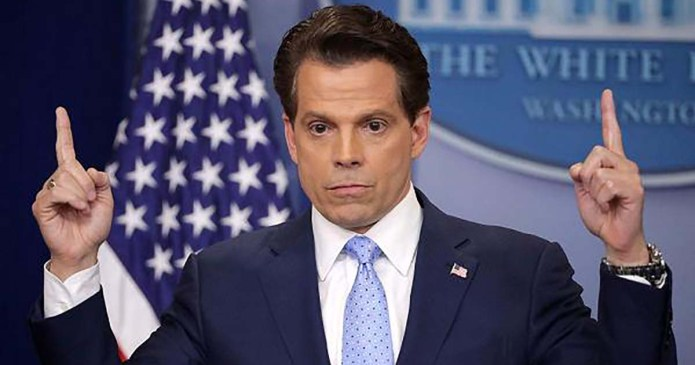 """White House Comms Director: """"I'm Not Trying To Suck My Own C**k"""""""