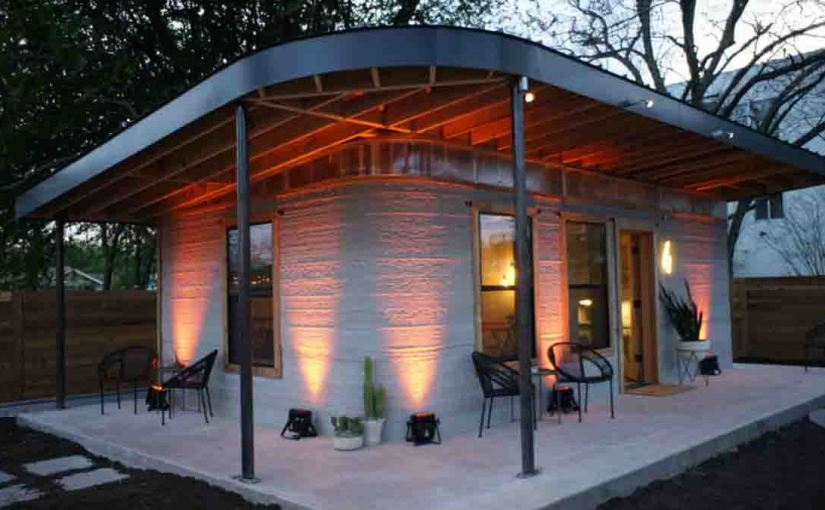 This 3D Printed House Goes Up in a Day for Under $10,000