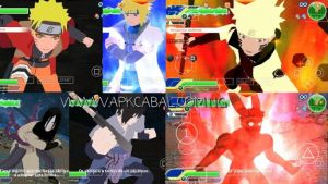 Download Dragon Ball Z Anime Crossover mod ppsspp