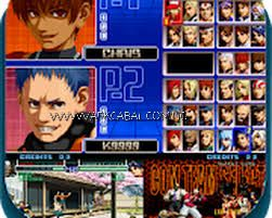 the king of fighter 2002 magic plus 2