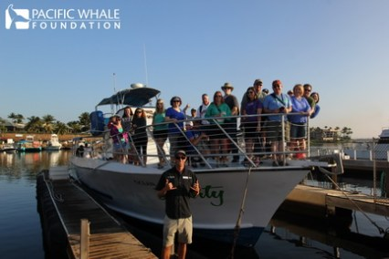 Ready to head out on the Ultimate Whalewatch cruise by PWF