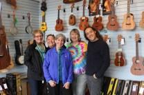 Jill, Maggie, Denise, Jane, Stu Fuchs