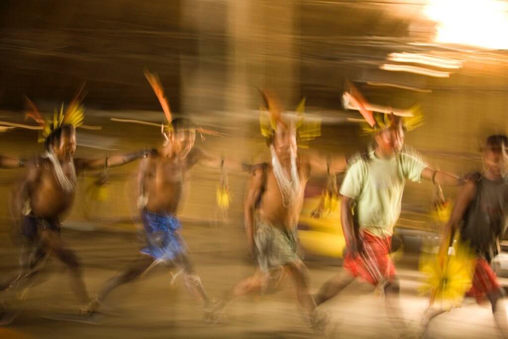 Ritual indígena. Foto: Sergio Bartelsman, Fundación Gaia Amazonas.