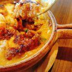 チーズ、とろ~🧀石窯ラザニア
