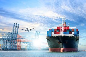 Shipping Containers and the Logistics of International Shipping