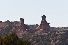 The iconic Lighthouse of Palo Duro Canyon
