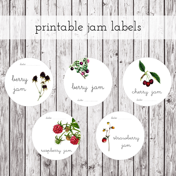 printable jam labels preview