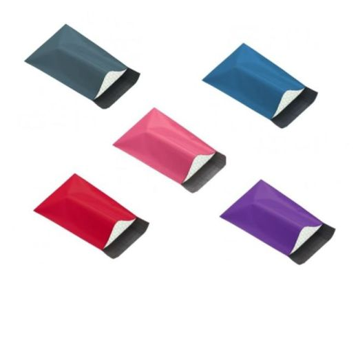 Coloured Polythene Bubble Lined Bags