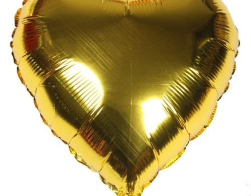 Plain Heart Balloons