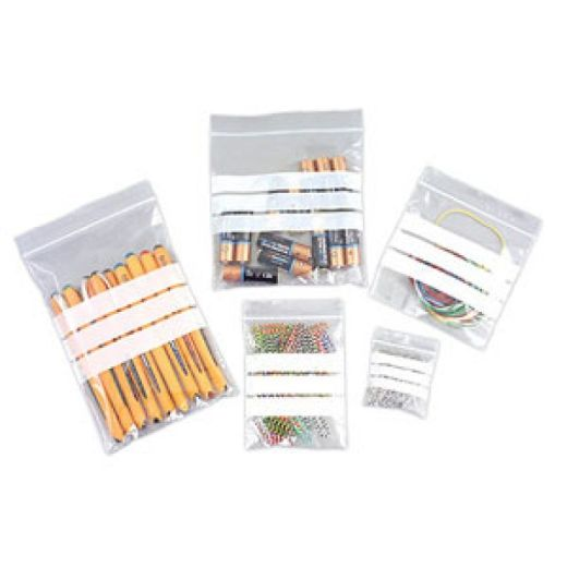 Gripseal Bags Write On Panels