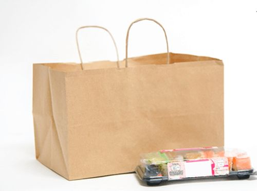 Take Away Paper Carrier Bags