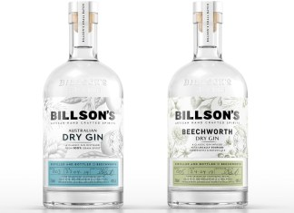 BILLSON Australian, packaging