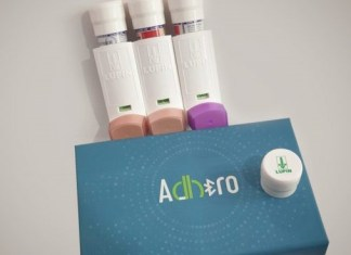 ADHERO, first connected device, smart device, BlueTooth reusable enabled device, Bluetooth ADHERO device
