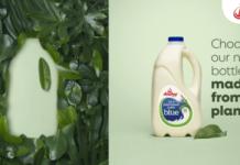 Plant-Based Milk Bottle, anchor blue 2l range, anchor blue 2l
