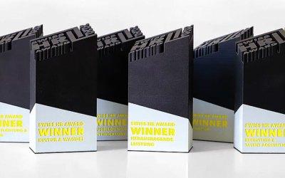 Auszeichnung beim Swiss HR Award