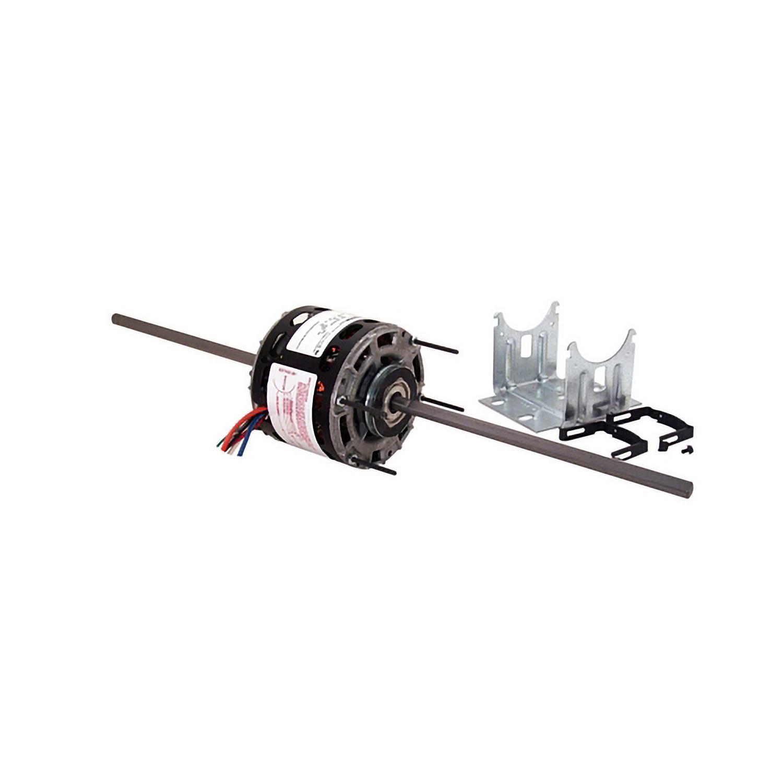 5 In Dia Dbl Shaft Fan Blower Motor 115v Rpm 1 8 1 12