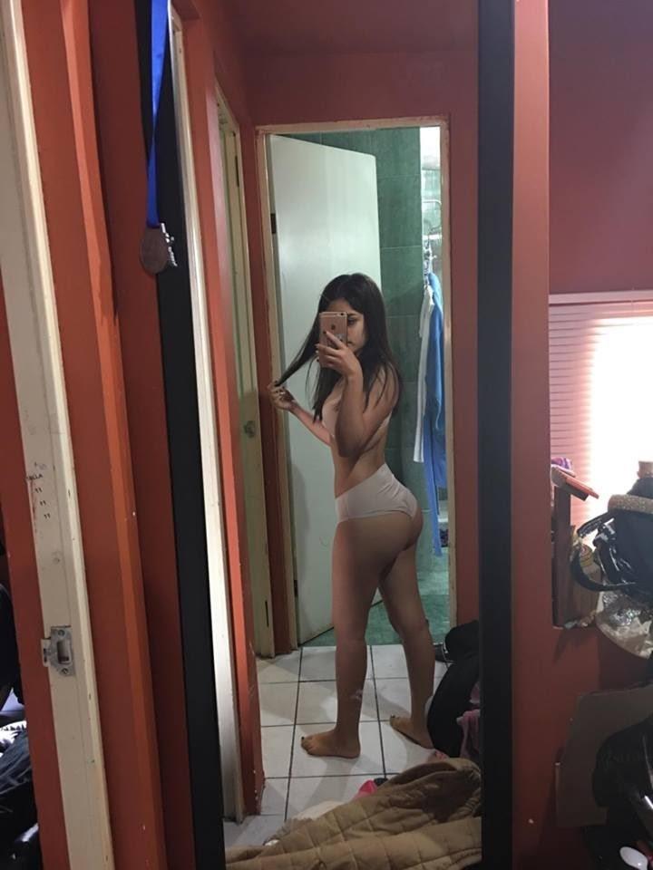 Jovencita culona muy sexy + vídeo