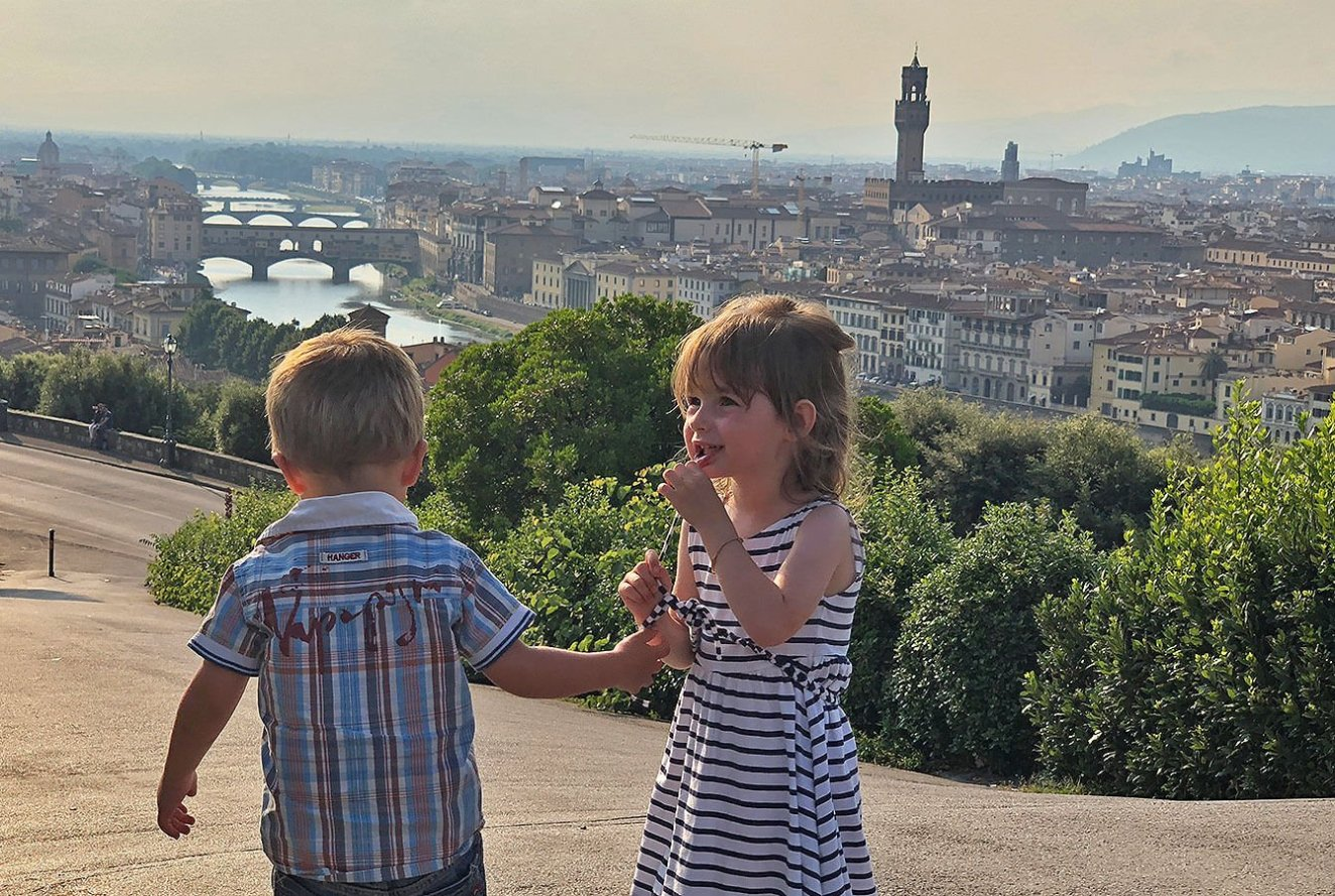 View over Florence from Piazzale Michelangelo