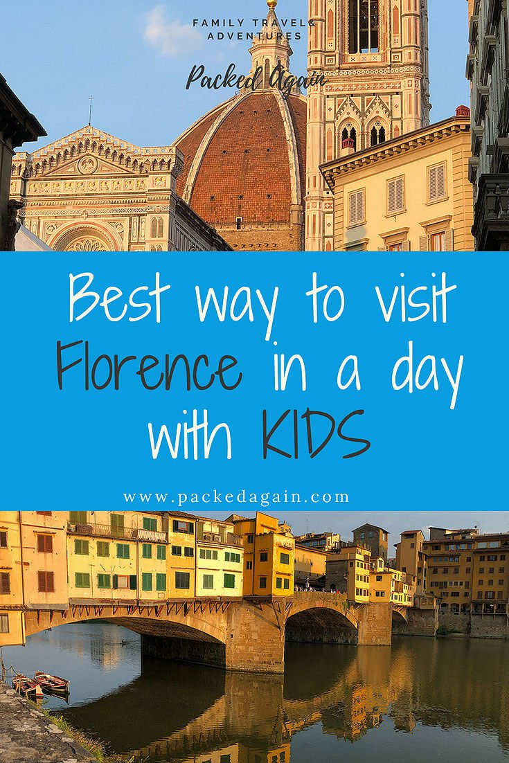 Best way to visit Florence in a day with kids