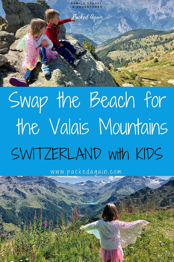 E-Book Switzerland , Swap the Beach for the Swiss Mountains