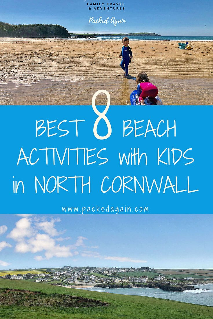 E-Book best 8 Beach Activities with Kids in North Cornwall