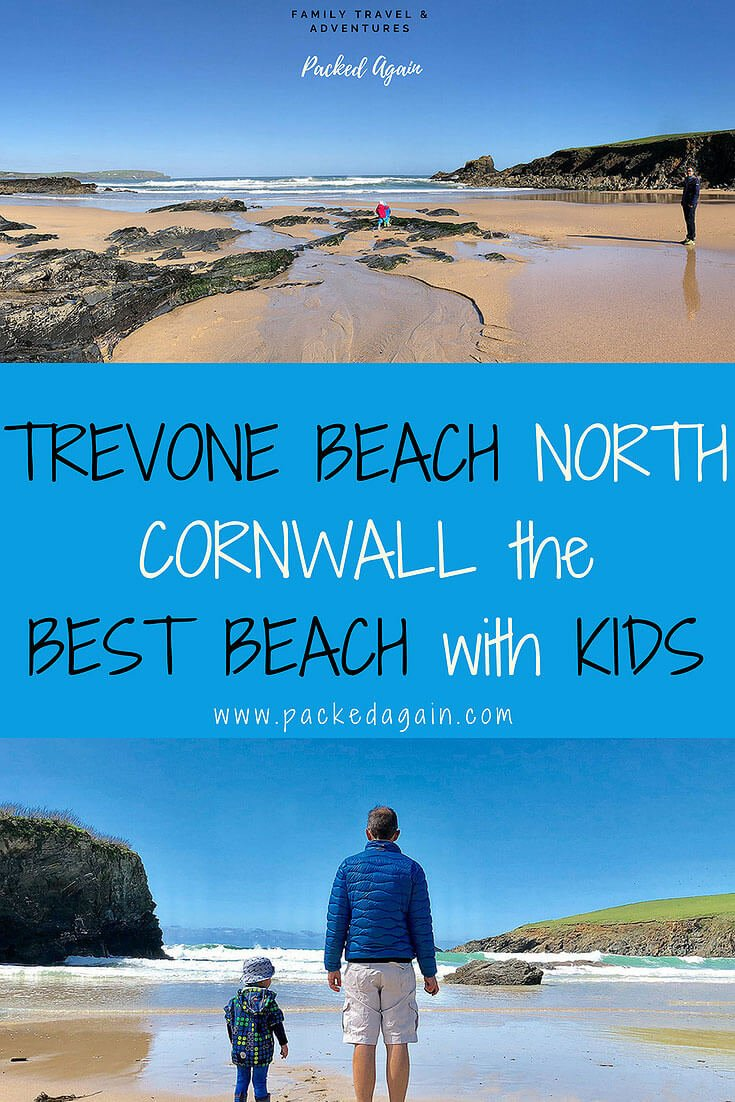 E-Book Trevone Beach North Cornwall best beach with Kids