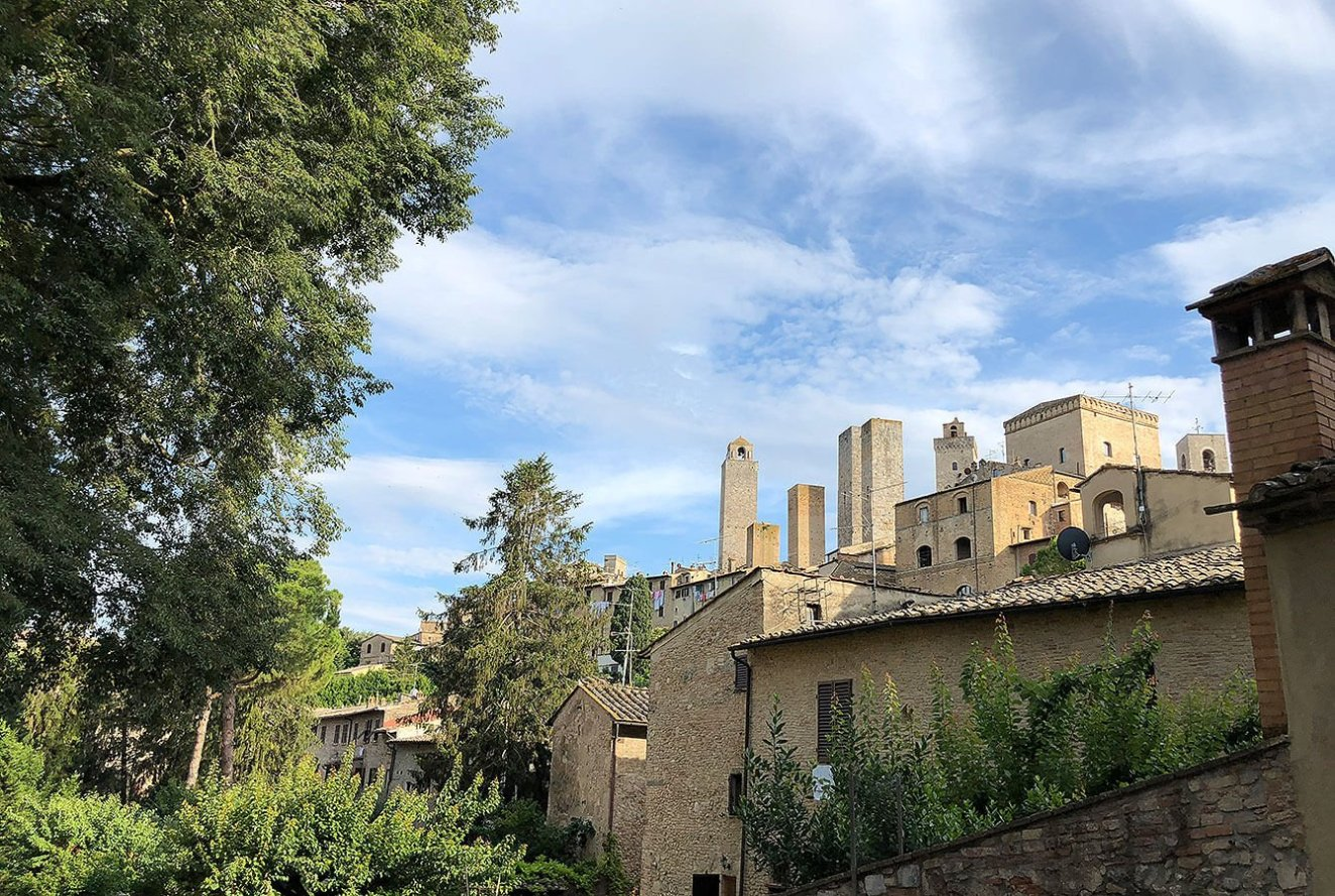 Towers of San Gimignano, Tuscan Village