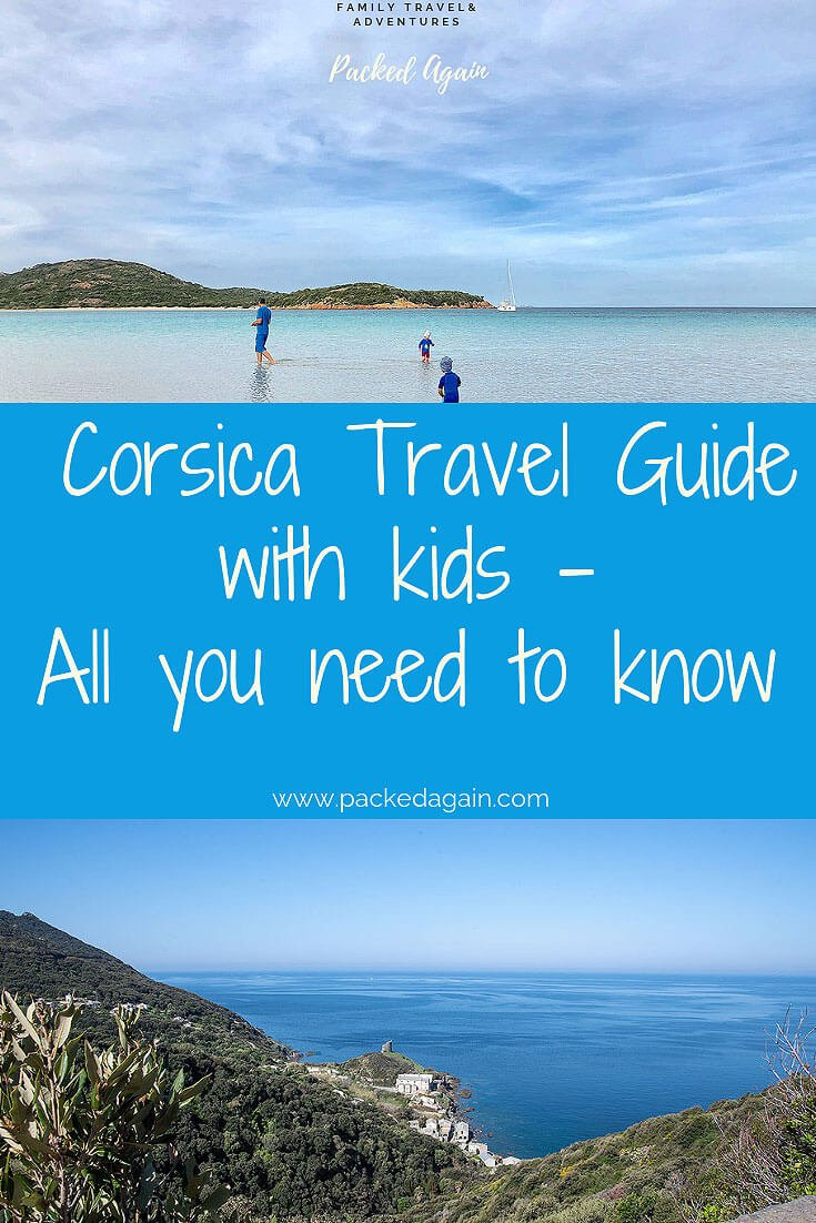 E-Book Travel Guide to Corsica with Kids