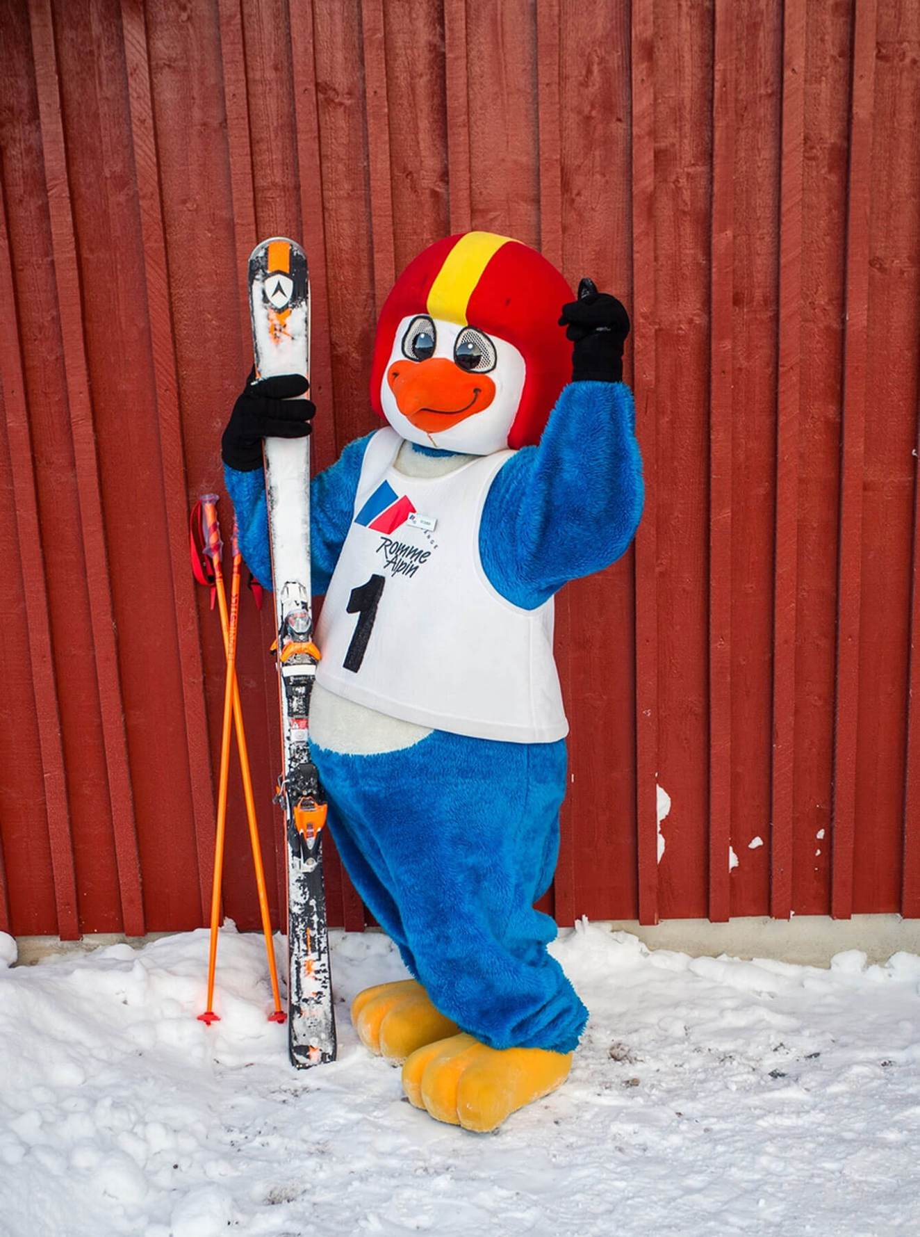 Romme Alpine Mascotte in Sweden
