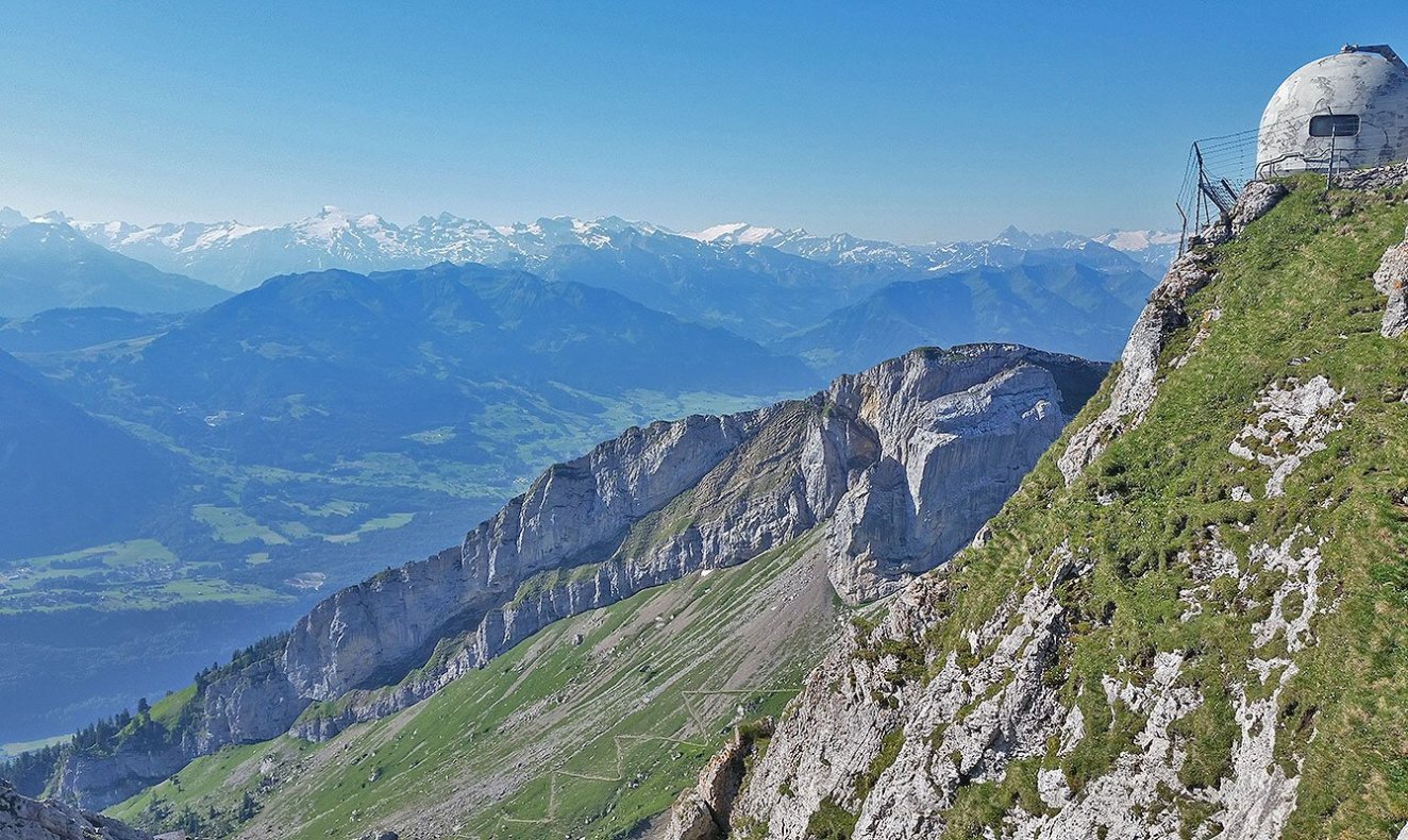 viewpoint Mt. Pilatus - Lucern