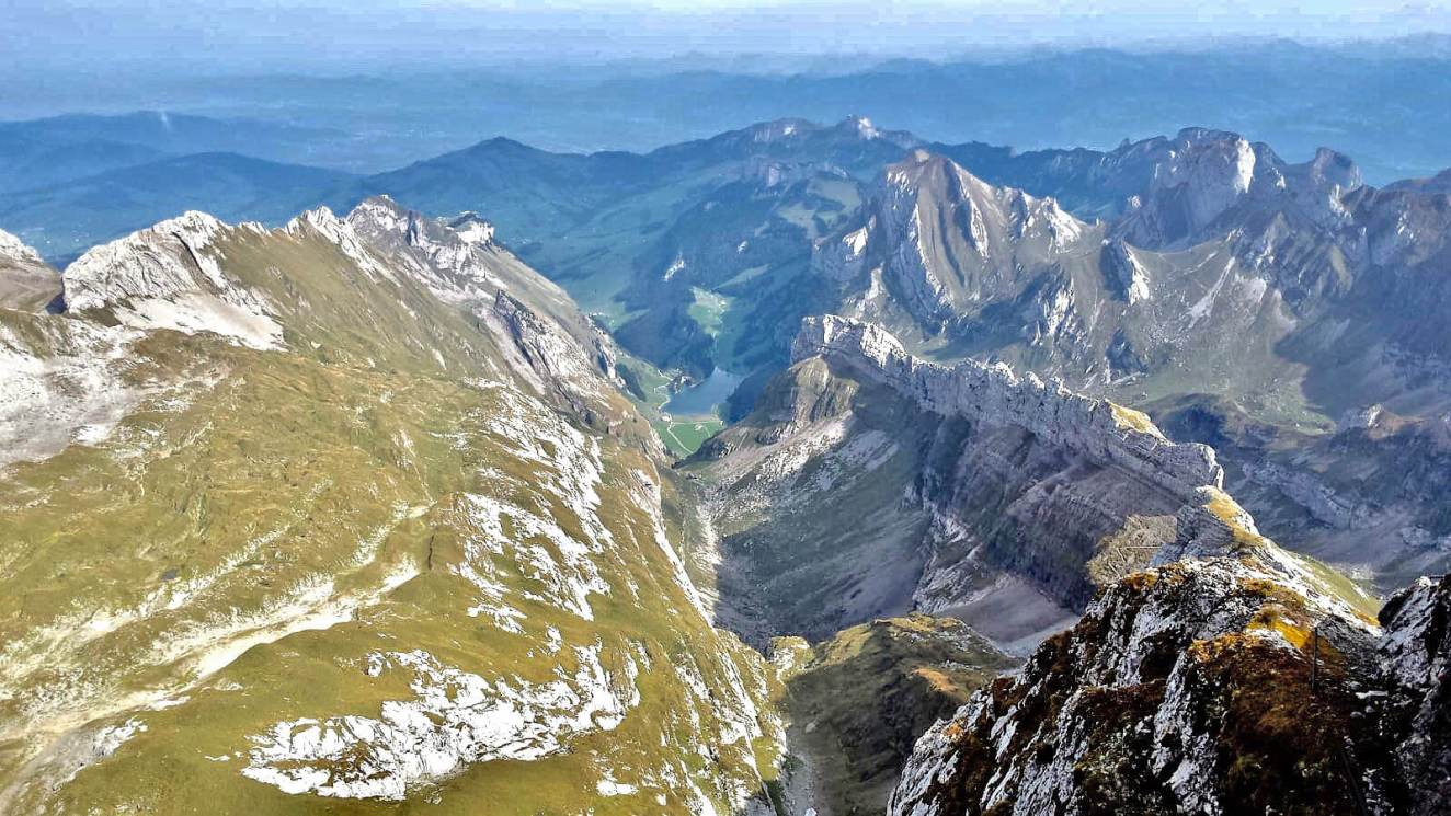 Switzerland's most scenic viewpoints :: Säntis