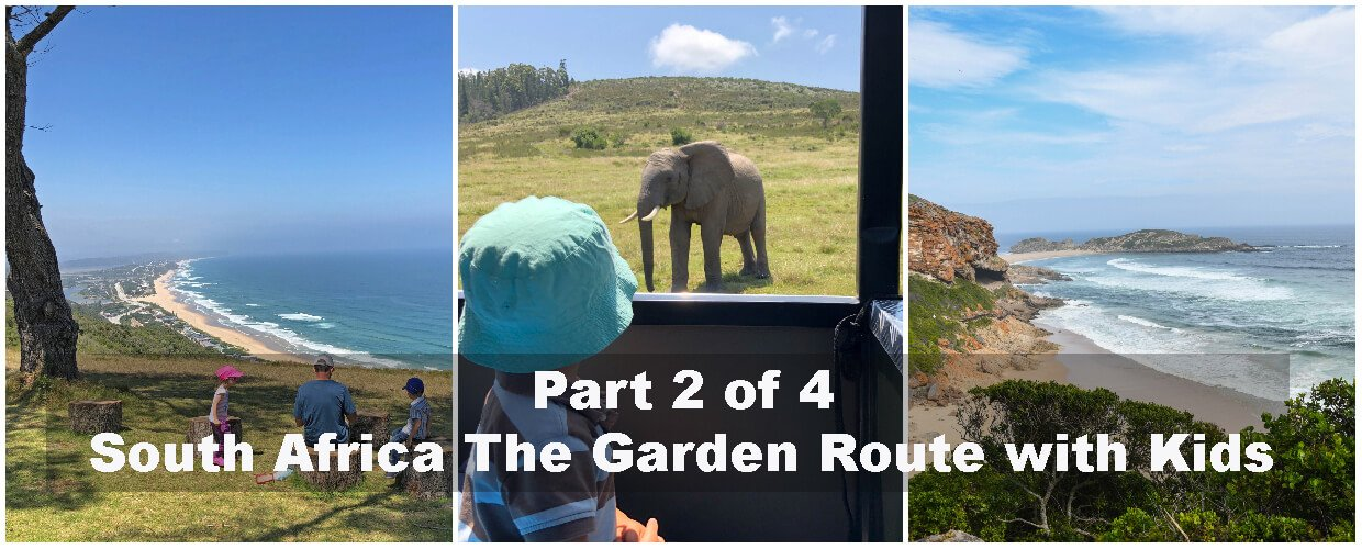 South Africa along the Garden Route with Kids