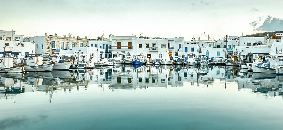 a greek harbour