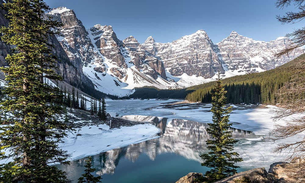 best photography spots in the Canadian Rocky Mountains, Moraine Lake