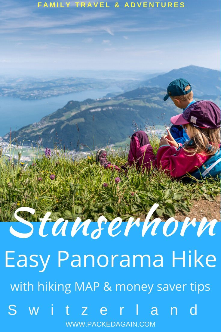 pin to article Panorama Hike at Stanserhorn with beautiful view