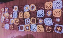 Shaping Crochet granny square
