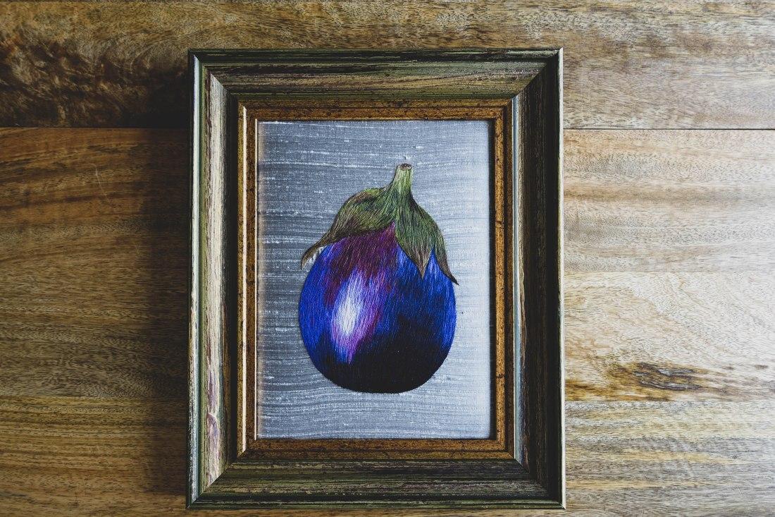 Silk Shading Eggplant