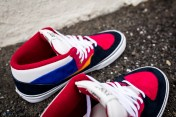 """Vans 'Year of the Monkey"""" Half Cab Multi-Suede-Leather -12"""