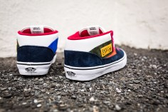"""Vans 'Year of the Monkey"""" Half Cab Multi-Suede-Leather -5"""