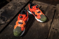 Instapump Fury ASYM Canopy Green-Peach-Red-10